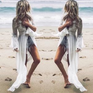 Tops - NWT $110 Crochet Coverup Top everything but water